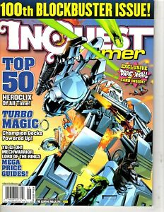 Inquest Gamer Magazine - Aug 2003 # 100  - Cover 2 of 2- 100th Blockbuster Issue