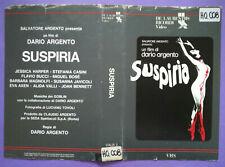 Solo Copertina Fascetta SUSPIRIA dario argento goblin miguel bose' no vhs dvd cd