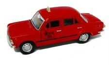 WELLY MODELL Fiat 125p TAXI ROT  Welly Modell PRL Auto 1:34-39 NEU & OVP