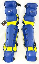 NIKE Baseball Catcher's Leg Guards Protector pair