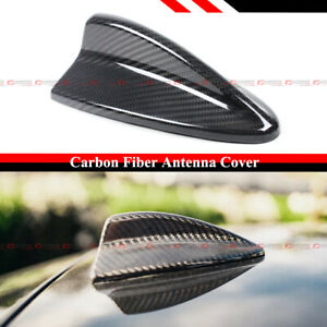 FOR BMW E90 E91 E92 3 SEIRES M3 E82 1M CARBON FIBER SHARK FIN ANTENNA COVER CAP