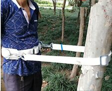 New listing HUAWELL Safety Belt with Two Side Adjustable LanyardCement Pole & Tree Climbi...