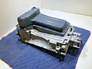 GENUINE CUMMINS ISV 5.0 V8 Nissan Titan OIL PAN Assembly + oil pump 4325271 OEM