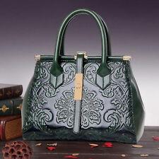 Women's PU Leather Shoulder Bag Tote Purse Handbag Messenger Crossbody Satchel
