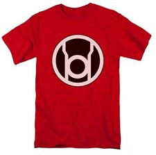 Adult Red DC Comics Green Lantern Red Lantern Corps Rage Symbol t-shirt tee