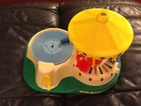 Rare Vintage  Fisher Price Musical Merry Go Round 1980