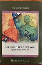 The Great Courses-Roots of Human Behavior 2 DVD's and Book Sealed New 2001