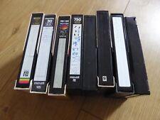 8 x 1980 S VINTAGE Maxwell TDK SCOTCH FUJI BETAMAX CASSETTE Ref#9