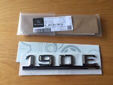 Mercedes w201 190 New Genuine Rear boot badge emblem 190E A2018172015