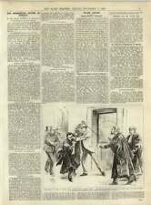 1891 Mr Healey Assaulted Four Courts Dublin The Gothenberg System In Norway