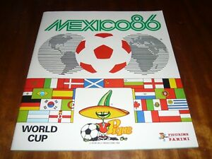 PANINI MEXICO 1986 WORLD CUP COMPLETE FULL STICKERS ALBUM MARADONA RARE ORIGINAL