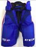 New CCM HP45 Washington Capitals Pro Stock/Return Ice Hockey Pants Large+1 blue