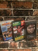 Selection of Muhammad Ali Boxing VHS Video Tapes Sports Fighting Boxing TBLO