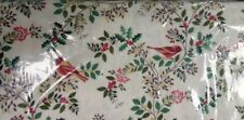 Christmas Silent Night Birds in the brier half metre free p&p, 100% cotton.