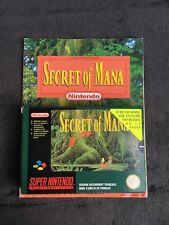 Jeu Super Nintendo Secret Of Mana FAH état Quasi Neuf, Complet