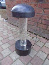 lampe extérieur en pierre avec éclairage led + transfo nouveau ! très lourd !!