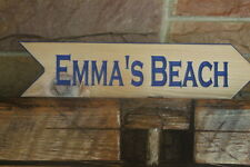 Personalized Garden Sign Custom Carved Wedding Arrow Reception Lake House Signs