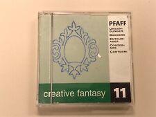 "Pfaff Creative Fantasy Card #11, ""Borders"", 20 designs Free Shipping"