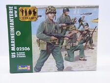 LOT 40433 Revell 02506 US Marineinfanterie WWII 1:72 Bausatz NEU OVP