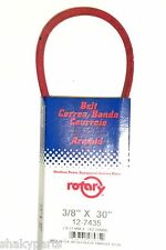 """7435 Rotary Snowblower Belt Compatible With MTD 754-0346, 954-0346   (3/8""""x30"""")"""