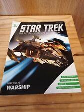 Eaglemoss Star Trek Starships Issue 51 Hirogen Warship (Mag & Model)
