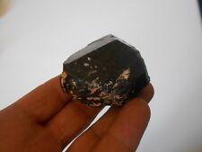144g POINTE de TOURMALINE NOIRE BRUTE (schorl)  Madagascar  Lithothérapie pierre