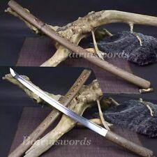 Hand Forged Rose wood Shisaya Katana T1060 Steel Japanese Samurai Ninja Sword