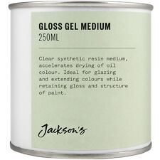 Jackson's Gloss Gel Medium 250ml Oil Paint Medium
