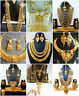 Necklace 22K Gold Plated Indian Designer Variation Necklace Earrings party Set g