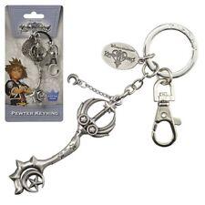Disney NEW * Star Seeker Key Chain * Kingdom Hearts Pewter Metal Keychain Clip