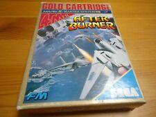 After Burner Japan sega mark III 3 master system game JAPAN