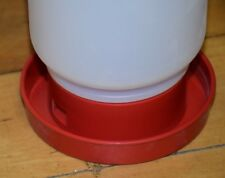Miller Manufacturing's Little Giant Quail Water Base. Color Red
