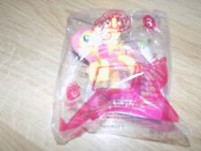 My Little Pony Fluttershy PVC Figure Toy w Color Changing Tail McDonald's #3 New