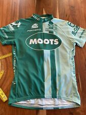 Voler Moots womens cycling jersey Large L Green 3/4 Zip Nice!!