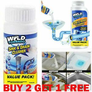 UK Wild Tornado Powerful Sink & Drain Cleaner High Efficiency - Clog Remover