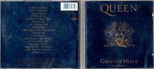 Queen. Greatest Hits II. CD Sammlungsauflösung Rock,Pop usw