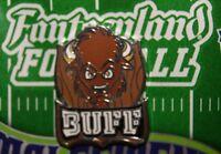 Disney Fantasyland Football Mystery Buff Country Bear Jamboree Frontierland Pin