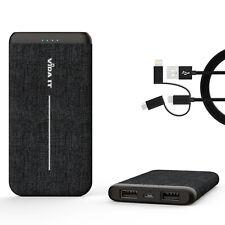 Massive Capacity 8000mAh Power Bank Dual Port USB Battery Charger Strong 2A 5V