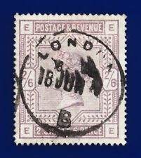 More details for 1884 sg178 2s6d lilac k10(1) ee london good used cat £160 czac