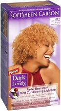 Dark and Lovely Permanent Hair Lightener 384 Light Golden Blonde 1 Each