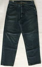 Lee Dungarees Loose Straight Leg Men's Blue Jeans Size 34×34