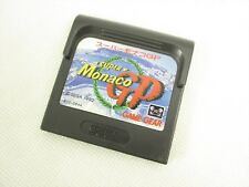Game Gear SUPER MONACO GP Cartridge Only Sega Import JAPAN Game gg