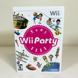 Wii Party (Nintendo Wii) CIB Complete w/ Manual - TESTED and WORKING