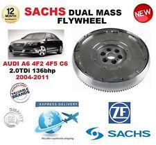 FOR AUDI A6 2.0 TDi 4F2 4F5 C6 136bhp 2004-2011 SACHS DMF DUAL MASS FLYWHEEL