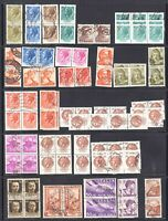 ITALY 2 PACKED STOCK PAGES COLLECTION LOT MULTIPLES + MORE HIDDEN VALUE