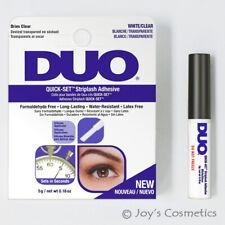 "1 DUO Quick Set Striplash Adhesive Eyelash glue "" 5g White / Clear ""  *Joy's*"