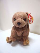 Ty Retired Beanie Baby, PECAN Beanie in Mint Cond Tag EX Cond