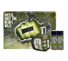 DIESEL ONLY THE BRAVE WILD GIFT SET INCLUDING 3 ITEMS RRP $105.00