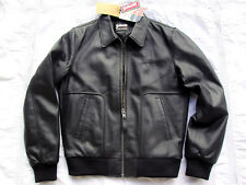 BLOUSON NEUF SCHOTT CUIR L LCFLYING BOMBERS NEW FLIGHT LEATHER JACKET LEDERJACKE