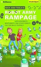 Nick and Tesla's Robot Army Rampage: A Mystery with Hoverbots, Bristlebots NEW
